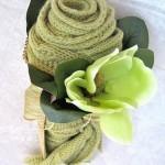 Idee regalo bouquet di sciarpa